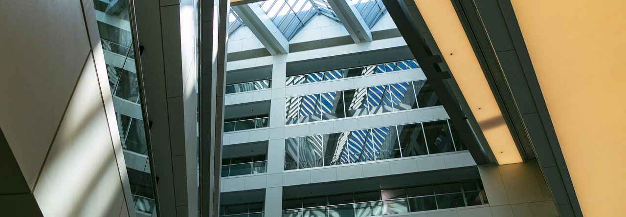 Building atriums and walkways