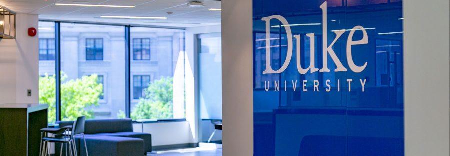 Duke in DC office space